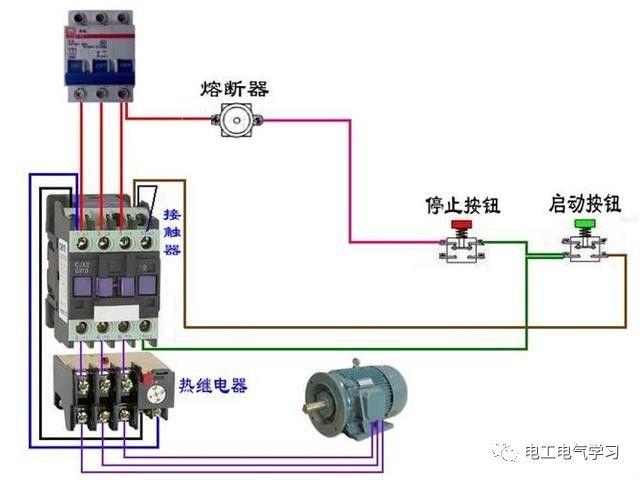 【电工必备】开关照明电机断路器接线图大全非常值得收藏!_63