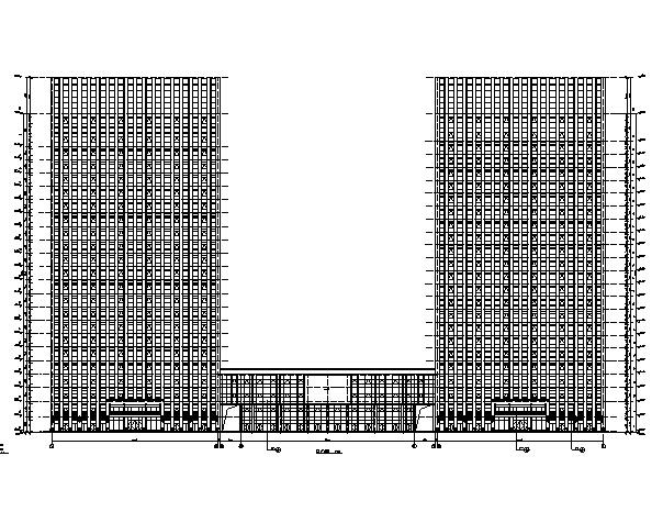 [安徽]超高层商业办公楼综合体建筑施工图(全专业图纸)