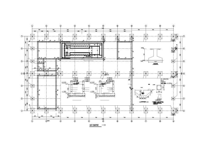 单层轻型门式刚架结构厂房改造施工图(2015)