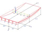 刚性横梁法计算横向分布系数的基本假定图示