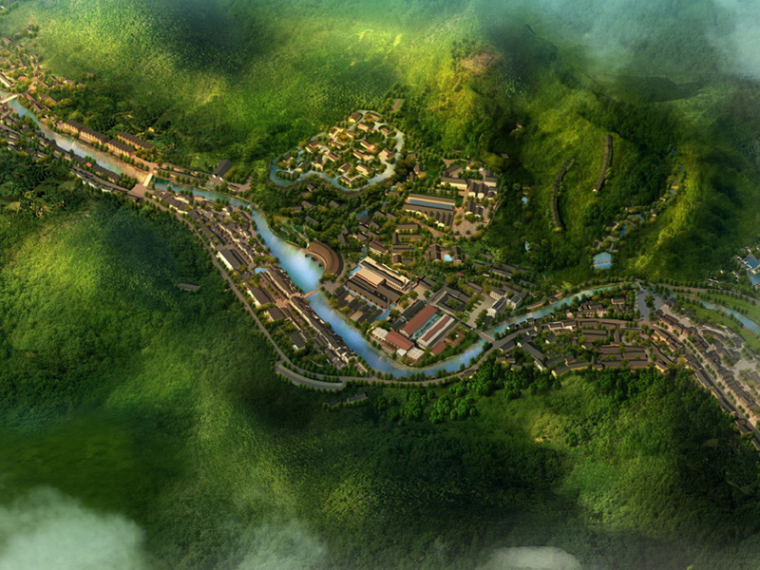 [浙江]龙游青瓷小镇中式改造建筑设计方案文本