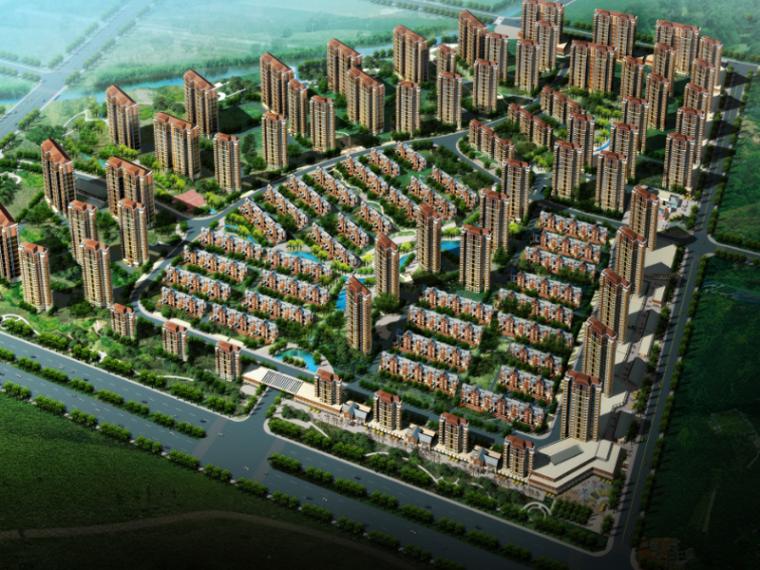 [沈阳]华润丁香湖居住区景观设计(滨湖现代)