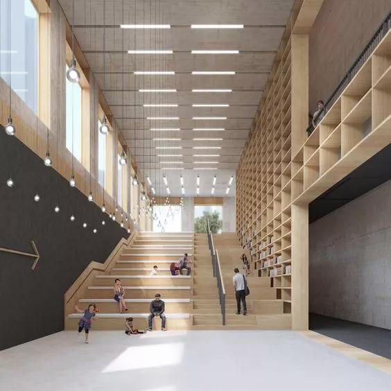 """你以为炫酷的大台阶设计就是画一个超大的""""单跑楼梯""""?_29"""