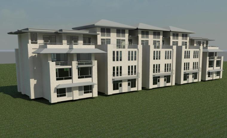 32五拼别墅三维模型图