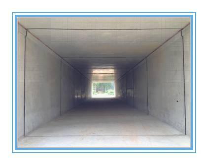 涵洞、通道盖板新型台车施工技术