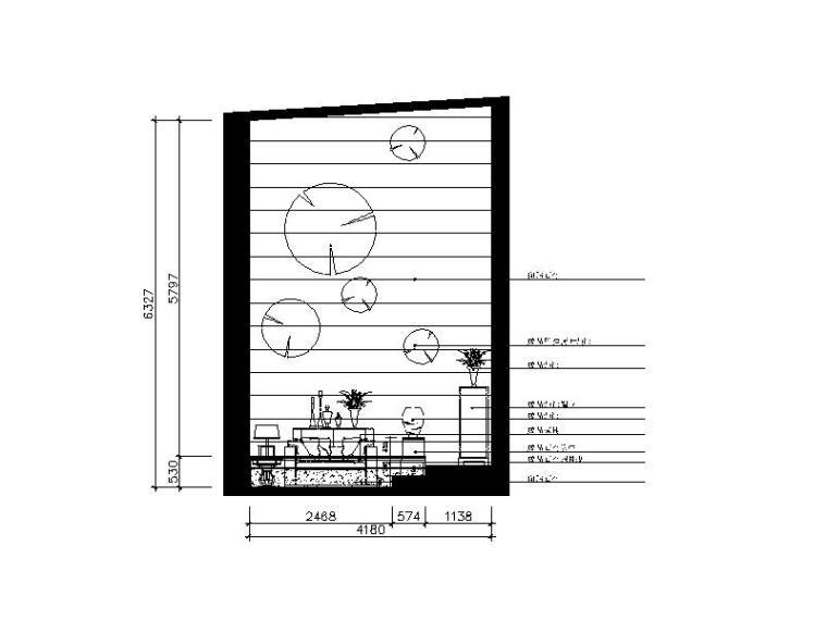 欧式动态别墅设计CAD施工图(含效果图)cad怎么风格块拉伸制作图片