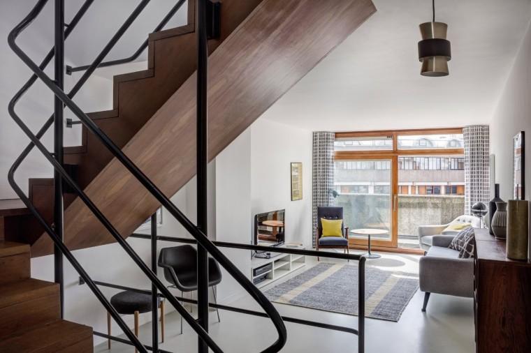 伦敦巴比肯庄园公寓改造-3