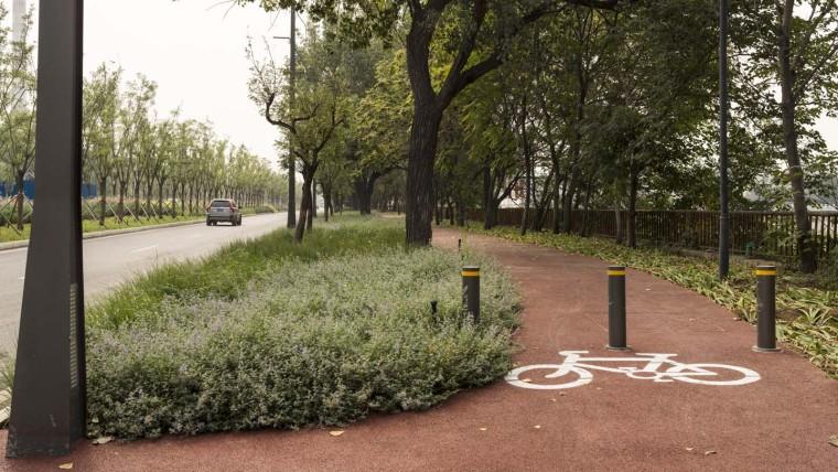 北京首钢晾水池东路景观-7