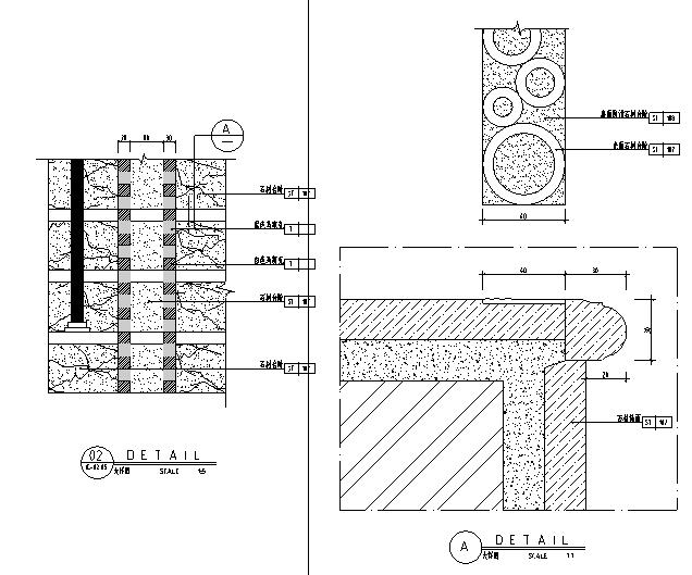 [广东]高档奢华现代酒店设计施工图(附效果图+材料表)_2