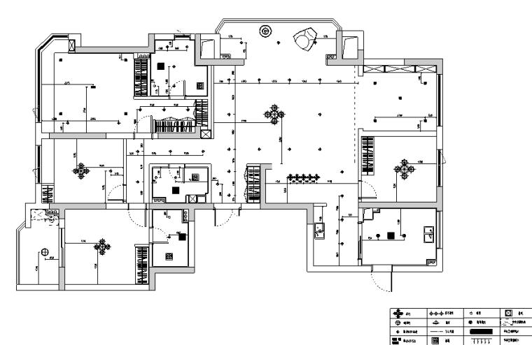 春江彼岸现代简约风样板房设计施工图(附效果图)