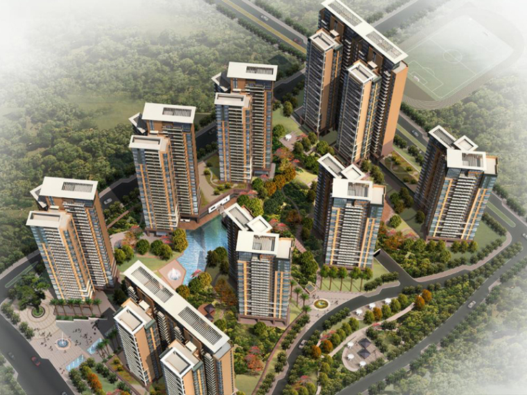 [深圳]还迁商品房规划设计方案文本