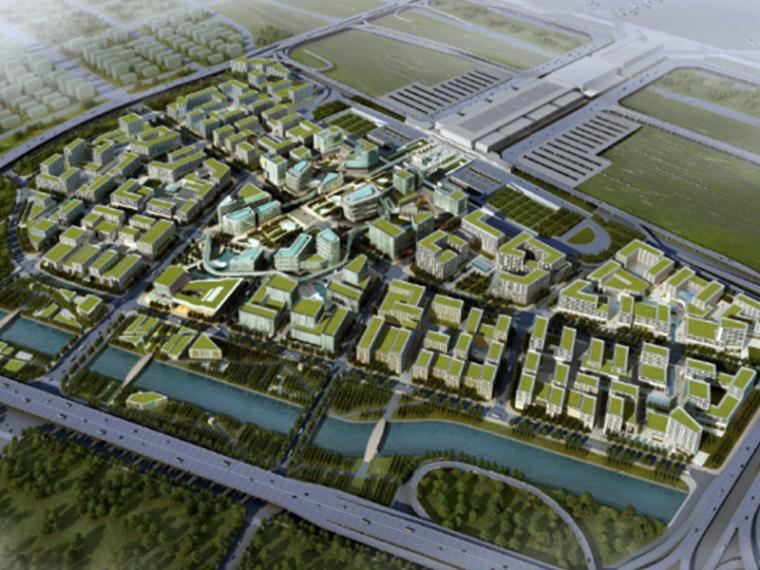 [上海]SBA虹桥商务区建筑方案设计文本