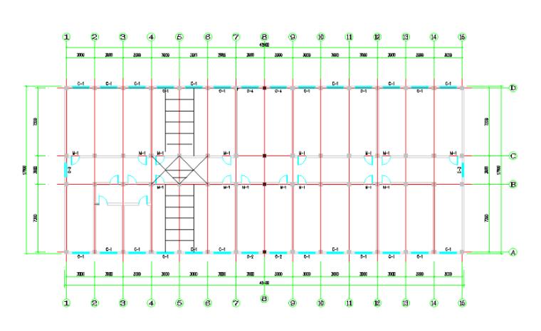 重庆大学毕业设计钢筋混凝土规则框架结构计算书(word,71页)_2