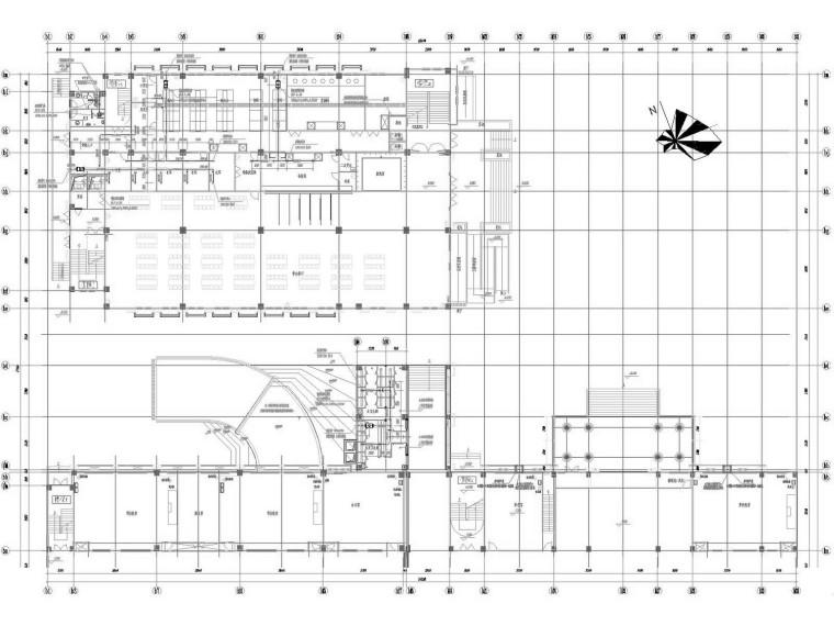 [江苏]多层中学教学楼通风及防排烟系统设计施工图
