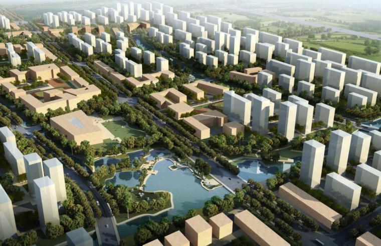 [上海]生态型混合社区建筑方案文本(PPT+55页)
