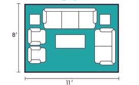用这9种方法布置沙发,感觉客厅可以大一倍