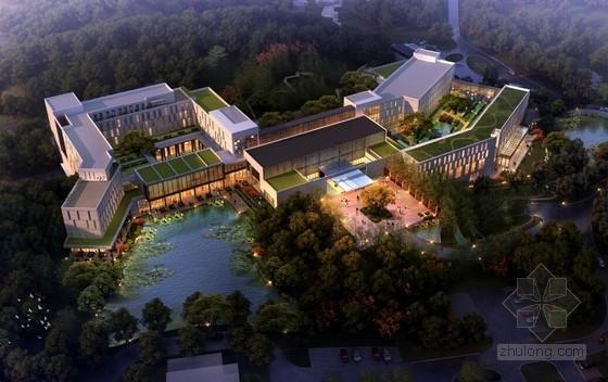 [合集]4套精品度假休闲酒店建筑设计方案文本