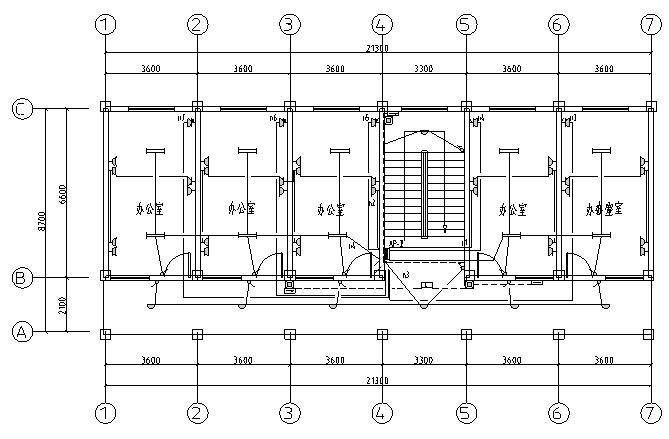 两层综合楼电气设计图纸图片