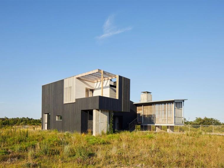 美国长岛上的Wetlands住宅