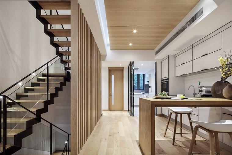 上海现代风格别墅样板间-7
