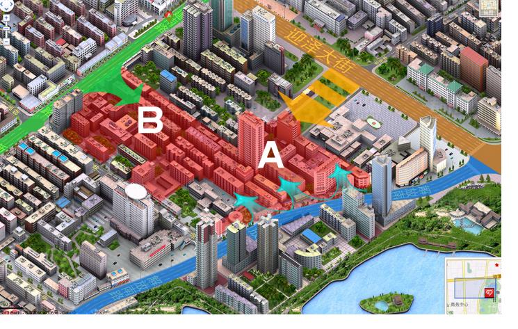 高层现代风格核心文化区规划及方案设计文本(多套方案)