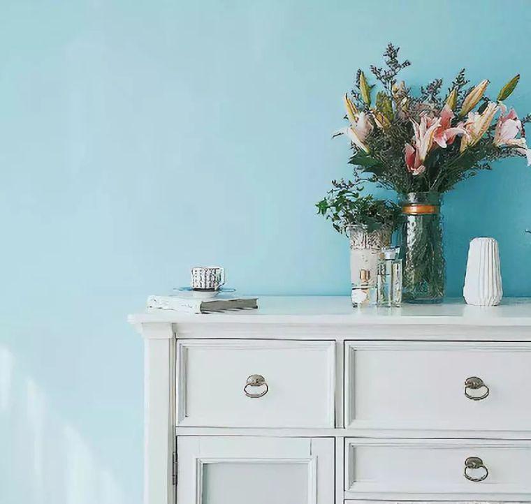 u型步入式衣帽间尺寸资料下载-拥有绝美榻榻米卧室、治愈系厨房,可能是最清新的美式风!