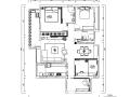 北国之春三居室样板房设计施工图(附效果图)