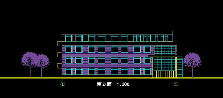 住宅小区内小学建筑设计图