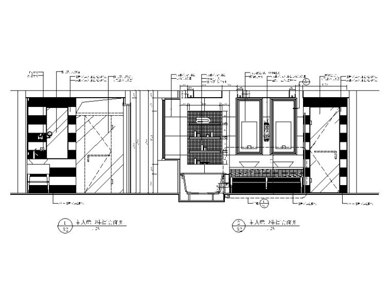 【北京】两套时尚经典别墅设计CAD施工图二_6