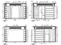 [陕西]某中式别墅室内设计施工图(含效果图)