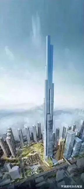 从830米到666米再到700米,深圳华润湖贝塔被压低拔高!