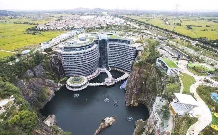 投入20亿的工程奇迹深坑酒店终于开业了,内部设计大曝光!_9