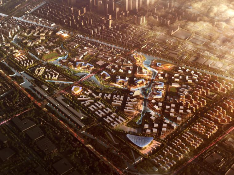 [浙江]杭州梦想小镇概念性总体规划
