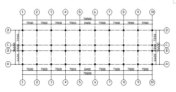 10层钢混框剪结构办公楼毕业设计计算书(word,49页)