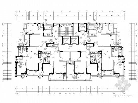 [重庆]97米高层住宅给排水消防施工图