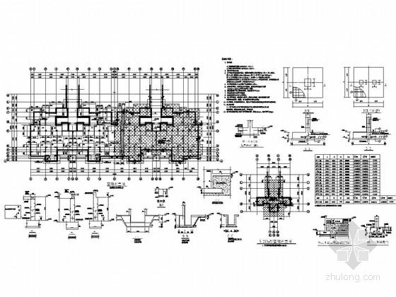 [安徽]三栋地上6F+1层抗震墙结构多层住宅楼结构施工图