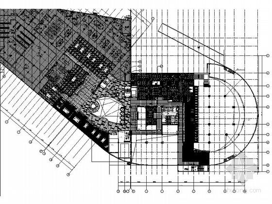 [福建]国际游艇会所游泳馆装修设计施工图(含效果)