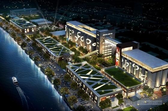[上海]沿江城市综合体规划及单体设计方案文本