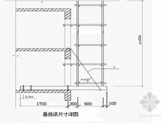 [重庆]住宅楼工程脚手架工程专项施工方案