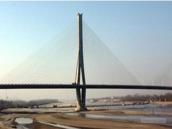 [山东]桥宽34m双塔双索面钢混组合梁斜拉桥黄河大桥实施性施工组织设计135页