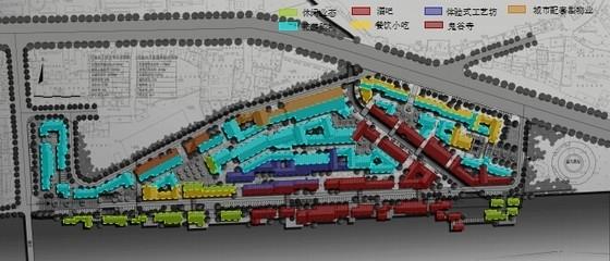 [湖南]风情古街景观规划设计方案-结构分析图