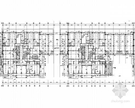 [山东]11万平高层商住楼群给排水消防施工图(冷凝水 雨水收集 再生水利用)