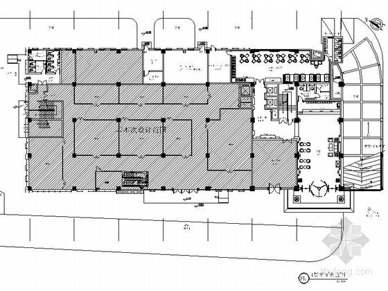 [湖北]会展中心现代风格五星级酒店室内设计装修施工图