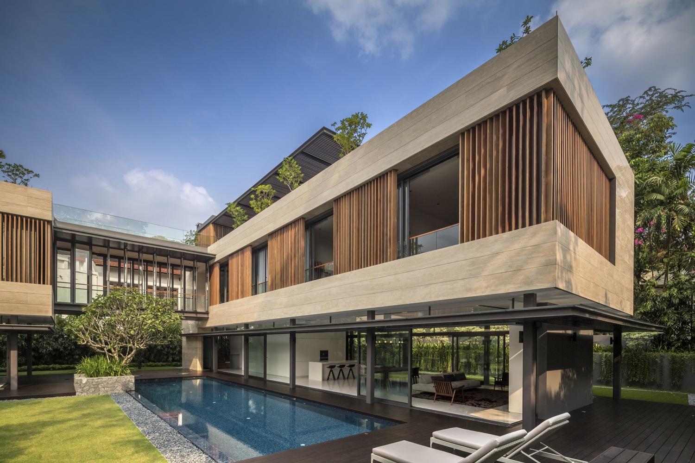 新加坡秘密花园别墅-别墅建筑案例-筑龙建筑设计论坛图片