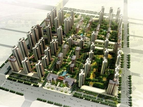 [西安]盛唐之名新中式小區景觀規劃設計方案