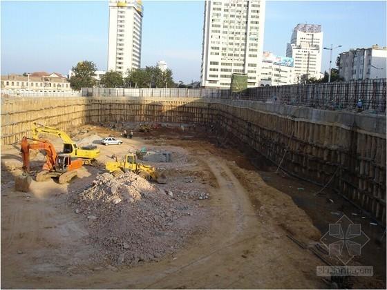 桩锚支护及土钉墙深基坑支护设计计算