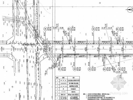 [安徽]市政道路给水及雨污排水工程施工图设计
