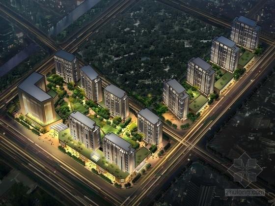 [浙江]artdeco风格住宅安置小区规划设计方案文本