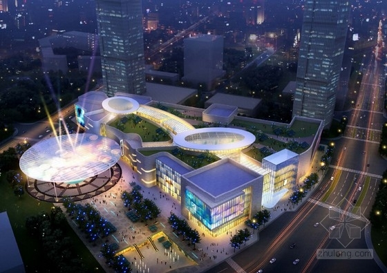 [上海]黄浦江道都市休闲商业步行街规划设计方案文本