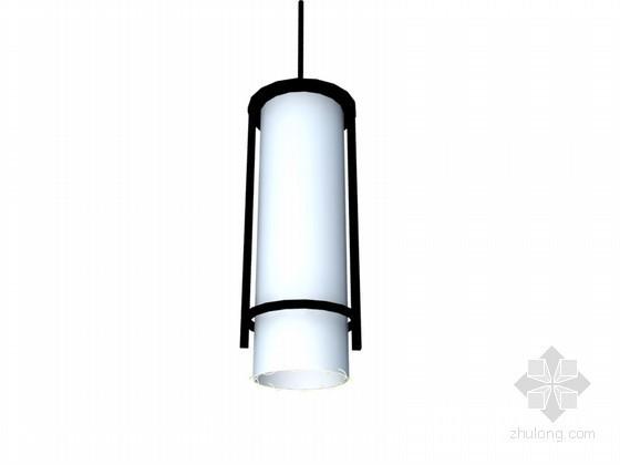 现代中式吊灯3D模型下载